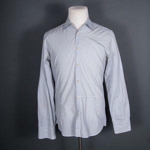 Diesel Black Gold White/Blue Check Shirt